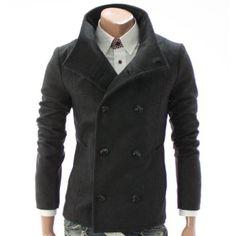 Doublju Mens Casual Winter New Outerwear Jacket