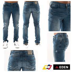 Visítanos en la tienda online, clic en la biografía. 👉Arma la mejor pinta. #EdenJeans #ModaMasculina #ProductoColombiano Jeans Style, Designer, Denim Jeans, Pants, Men, Fashion, Moda Masculina, Men's, Templates