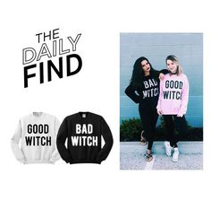 """The Daily Find: Tees and Tank You Sweatshirt Duo"" by polyvore-editorial ❤ liked on Polyvore featuring DailyFind"