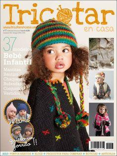 Tricotar en casa 7 Knitting Magazine, Crochet Magazine, Crochet Baby, Knit Crochet, Secret Love, Lana, Catalog, Super Cute, Diy Crafts