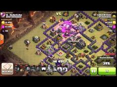 Cold Blooded LavaLoonion - TH9 3 Star Clan War Attack - Clash Of Clans S...