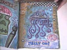 Liquid and Spray Sealers (part 8) vlog #12 In this final episode in my series on art journaling basics I go over some of the different sealers I use to protect the pages in my art books and journals. www.chongolio.com