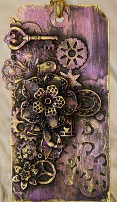 Altered Playing Card ATC ACEO