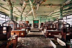 Abandoned chemistry lab in Germany