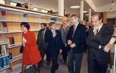 Inauguración de la Biblioteca de la Facultad de Economía y Empresa. Campus Paraíso (Ignacio Jordan de Asso) | Flickr: Intercambio de fotos