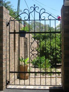 Handforged by farmweld.com.au for a special courtyard. $1800
