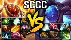 Sccc 8 Slotted Ember VS 6 Slotted Arc Warden and Kaka Jakiro Dota 2
