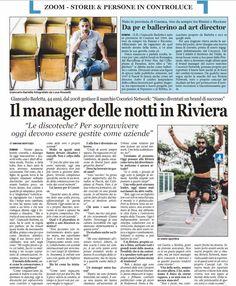 Il manager delle notti della Riviera  ft GIANCARLO BARLETTA
