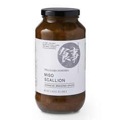 Williams Sonoma Braising Sauce, Japanese Miso Scallion