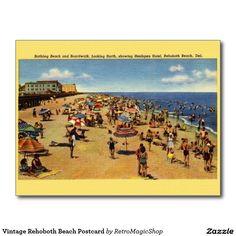 Vintage Rehoboth Beach Postcard