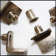 7mm Nickel L Shelf Supports Fits Pin Sleeves Included Require 75mm Diameter Peg