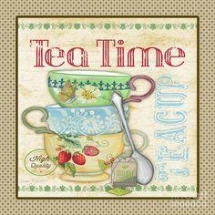 Tea Time-jp2572 Digital Art