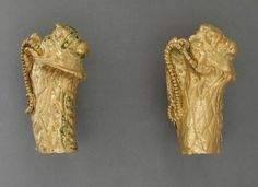 Pair of Earrings Greece, Hellenistic period, circa 2nd century B.C. Jewelry and Adornments; earrings Twisted gold wire Diameter: 13/16 in. (2 cm) Gift of Robert Blaugrund (M.80.196.71a-b) Greek, Roman and Etruscan Art