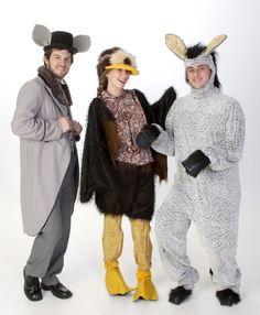Tap-Dancing Rat Ugly Duckling Donkey Costumes - Shrek Rental from $39-  sc 1 st  Pinterest & Donkey Costume - Shrek - Wildlife fancy dress costumes | Fetish ...