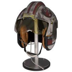 Star Wars: Prop Replicas: Episode V Luke Skywalker X-Wing Pilot Helmet @ ForbiddenPlanet.com