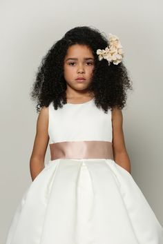 The Vera Luxurious Flower Girl Dress Modern by AgataMariaCouture