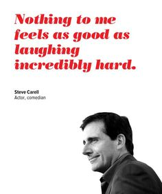 This is very true. And Steve Carrell as Michael Scott has made me laugh for years!! My Thursday nights just aren't the same without him.