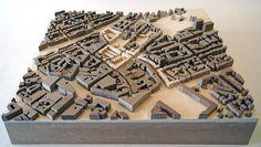 Maquette Architecture, Architecture Model Making, Urban Architecture, Architecture Student, Concept Architecture, Map Signage, Architect Jobs, Urban Concept, Model Site