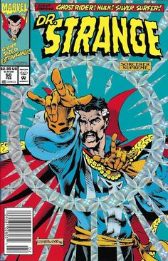 Marvel Doctor Strange comic issue 50