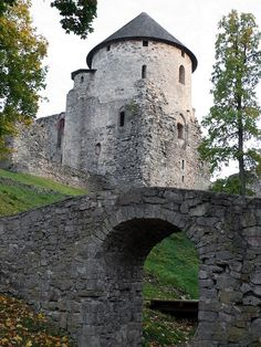 The Cēsis Castle - Cēsis, Latvia