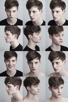 I wish I could convince thomas to let me cut his hair like this...