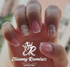 Nail Spa, Nail Art Diy, Pedicure, Nailart, Nail Designs, Mary, Angel, Pretty Gel Nails, Cute Nails