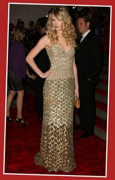 Taylor Swift | Sexy Celebrity Evening Dresses on The Red Carpet | Celebrity Fashion