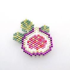 Diagramme figue en perles Miyuki Delicas par Mon Petit Bazar