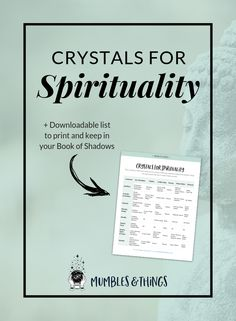 Within this blog post you will find a list of eight crystals you can use for connecting with your spiritual self so you can understand the wisdom of the Universe. Each of these is also associated with the Crown Chakra. #ontheblognow #crystallovers #crystalhead #crystallover #crystalpower #crystalstones #crystalmeanings #spiritualitycrystals #crownchakra