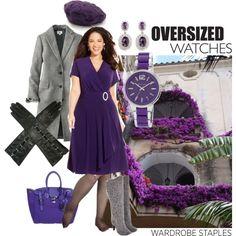 """Prominent purple"" by maria-kuroshchepova on Polyvore"
