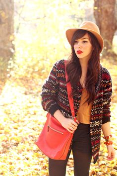 Fall Fashion at its finest, @Keiko Groves.