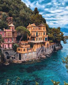 Portofino - Italy  follow @sennarelax for more