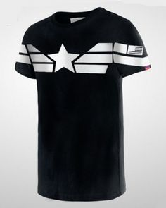 Captain America tshirt for men newest movie t shirts
