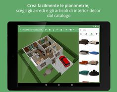 Planner 5D - Design d'Interni- miniatura screenshot  TETCF cod per avere gratuito arredamento.