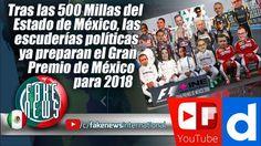 Las escuderías políticas ya preparan el Gran Premio de México para 2018