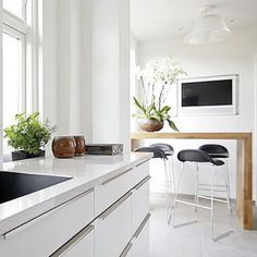 This kitchen is from the famous danish pastry chef Lars Juul-Mortensen. Show me your handles and i'll tell you who you are! #design