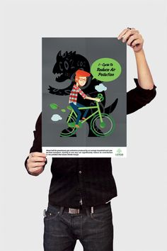 School Project ( i-Cycle Campaign Project ) by StephenDang_ 邪惡, via Behance