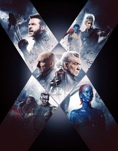 Directed by Bryan Singer. With Patrick Stewart, Ian McKellen, Hugh Jackman, James McAvoy. The X-Men send Wolverine to the past in a desperate effort to change history and prevent an event that results in doom for both humans and mutants. Days Of Future Past, Xmen Future Past, Marvel Comics, Hq Marvel, Marvel Films, Marvel Heroes, Marvel Cinematic, Patrick Stewart, Ian Mckellen