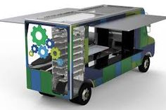 Food truck interior on pinterest food truck design cute for Food truck interior design
