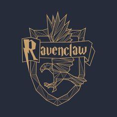 Ravenclaw Wappen - Ravenclaw - T-Shirt Harry Potter Facts, Harry Potter World, Harry Potter Hogwarts, Casas Estilo Harry Potter, Ravenclaw Logo, Hery Potter, Welcome To Hogwarts, Yer A Wizard Harry, Harry Potter Wallpaper