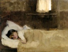 Sleeping Girl - Helene Scherfbeck