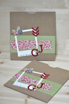 20x20 Photo envelope; Manu for Dicorsoincorso