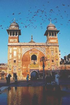 Wazir Khan Mosque, Lahore, Pakistan (August 2001)