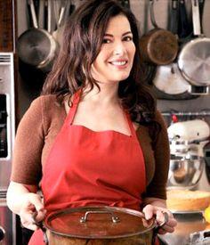 Nigella... beautiful, talented female chef