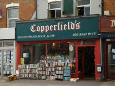 Copperfield's Secondhand Book Shop, London, England | http://writersrelief.com