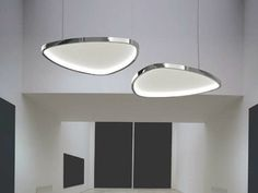 LED pendant lamp with acoustic diffusor SOFT DELTA