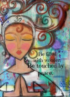 Be Filled With Wonder by Paulette on Etsy - spirituell - Yoga Yoga Inspiration, Namaste, Yoga Kunst, Hata Yoga, Wal Art, Mind Body Soul, Yoga Quotes, Yoga Meditation, Beautiful Words