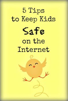5 Tips to Keep Kids SAFE on the Internet.  Such an important subject.  Just like all the other safety lessons we teach, this one needs to be just as important. Great advice.  Please read and share. ~Pebbles and Piggytails