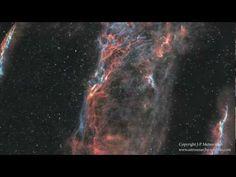 Veil Nebula by  J-P Metsavainio: 3D- Rendering of Nebula. Amazing ! Thanks to @Ben Silbermann Silbermann #Astronony