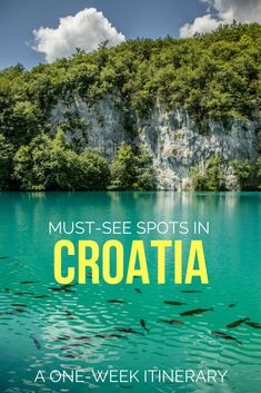 One week in Croatia: The best places for the ultimate road trip itinerary – Travel Croatia Itinerary, Croatia Travel Guide, Europe Travel Tips, Travel Destinations, Road Trip Europe, Travel News, Travel Eastern Europe, Road Trip Tips, Croatia Destinations